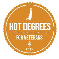 GI Jobs Hot Degrees For Veterans 2015 Logo