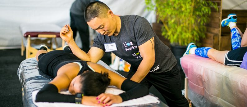 Sports Massage Observation Class