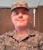 Massage Therapy School Student, Eric Wessel – U.S. Air Force's photo